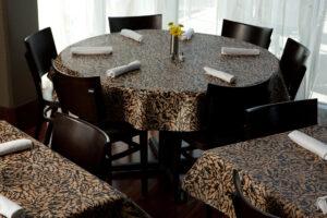Custom vinyl tablecloth